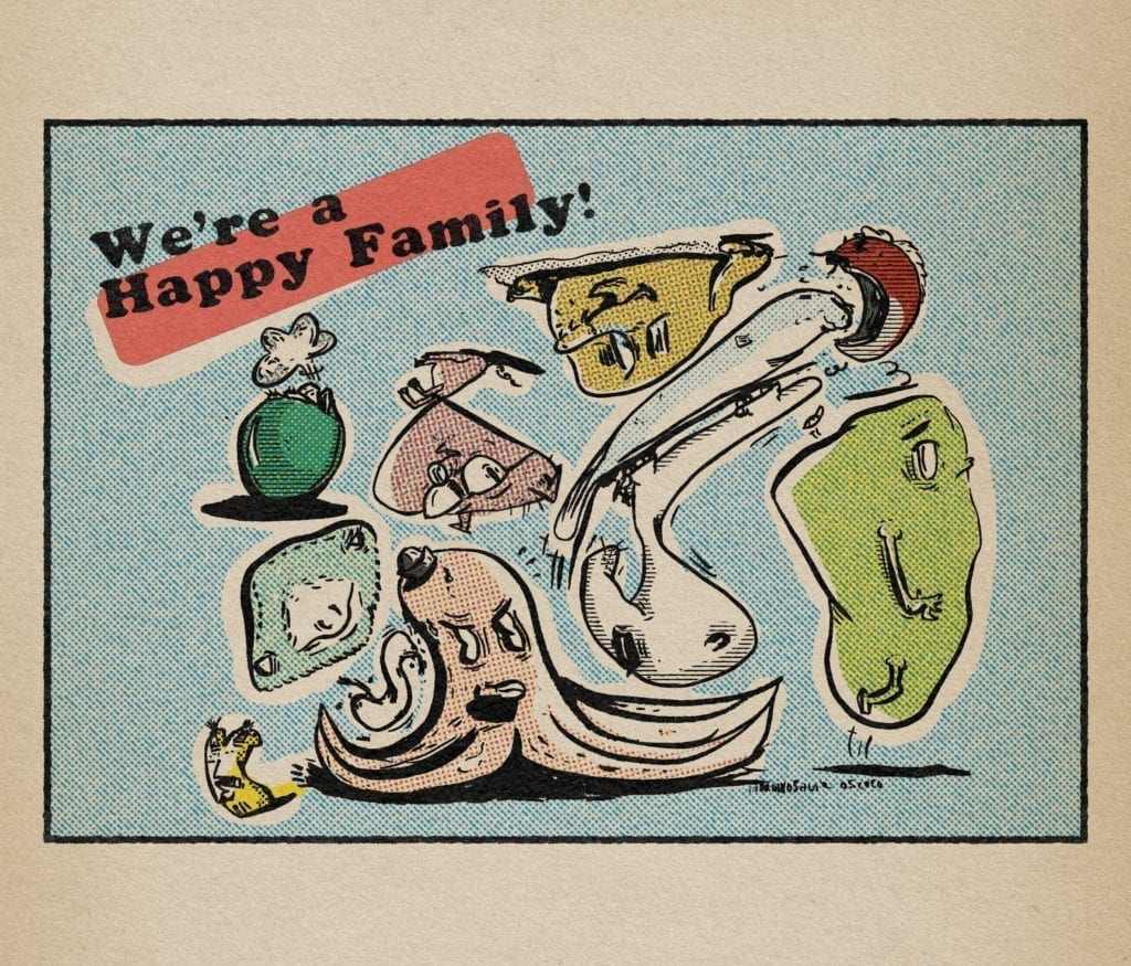 happy family monsters