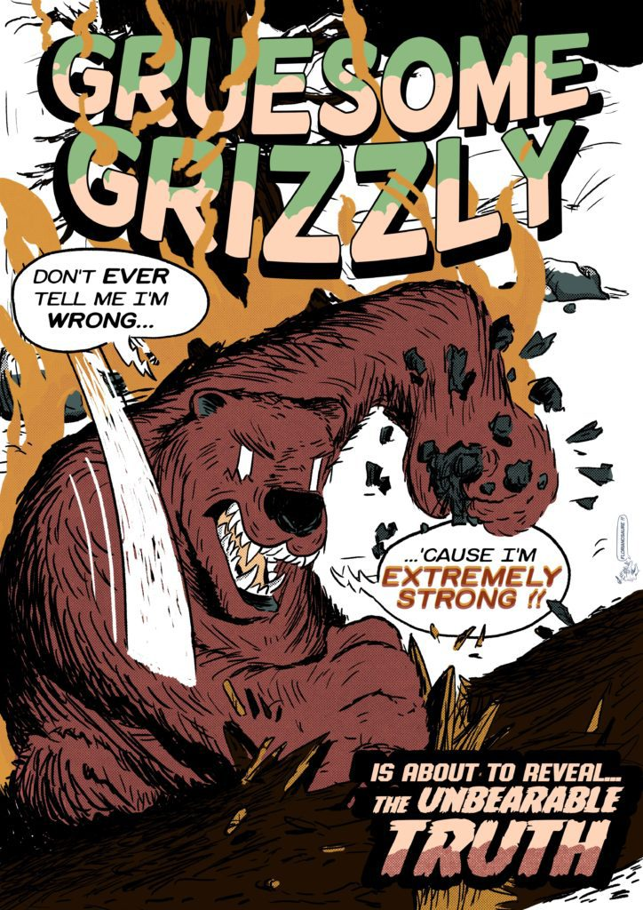 gruesome grizzly cover